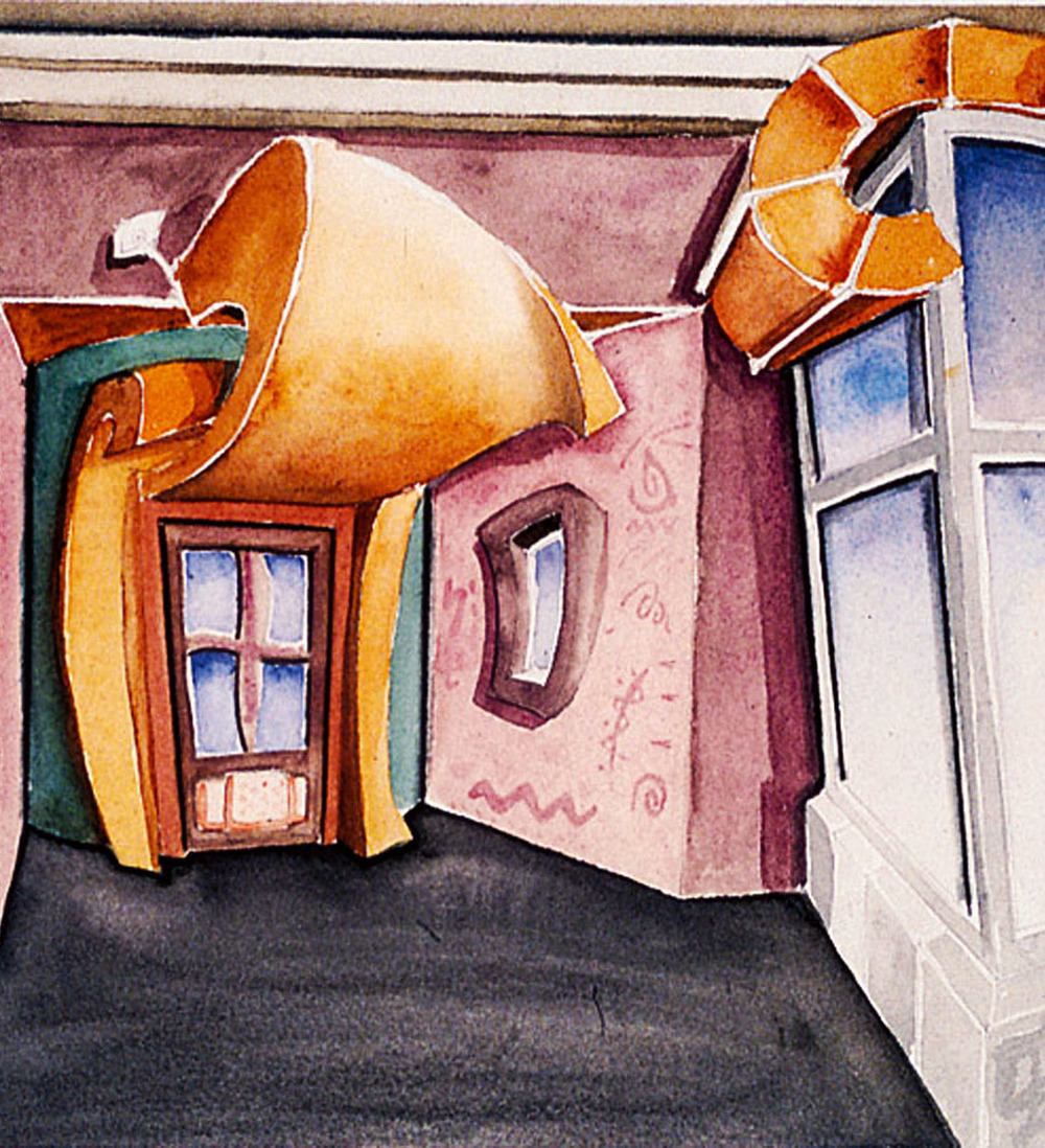 Watercolor Study of Entrance