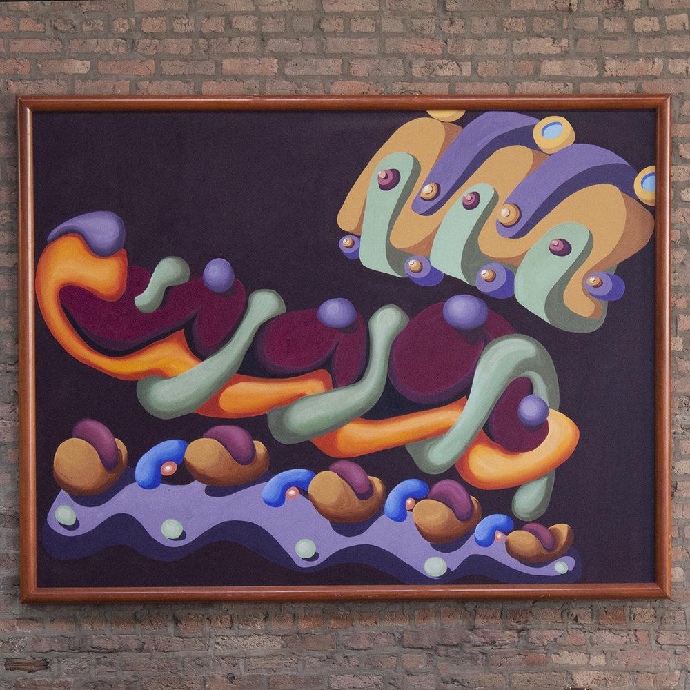 Cypress Club Mural