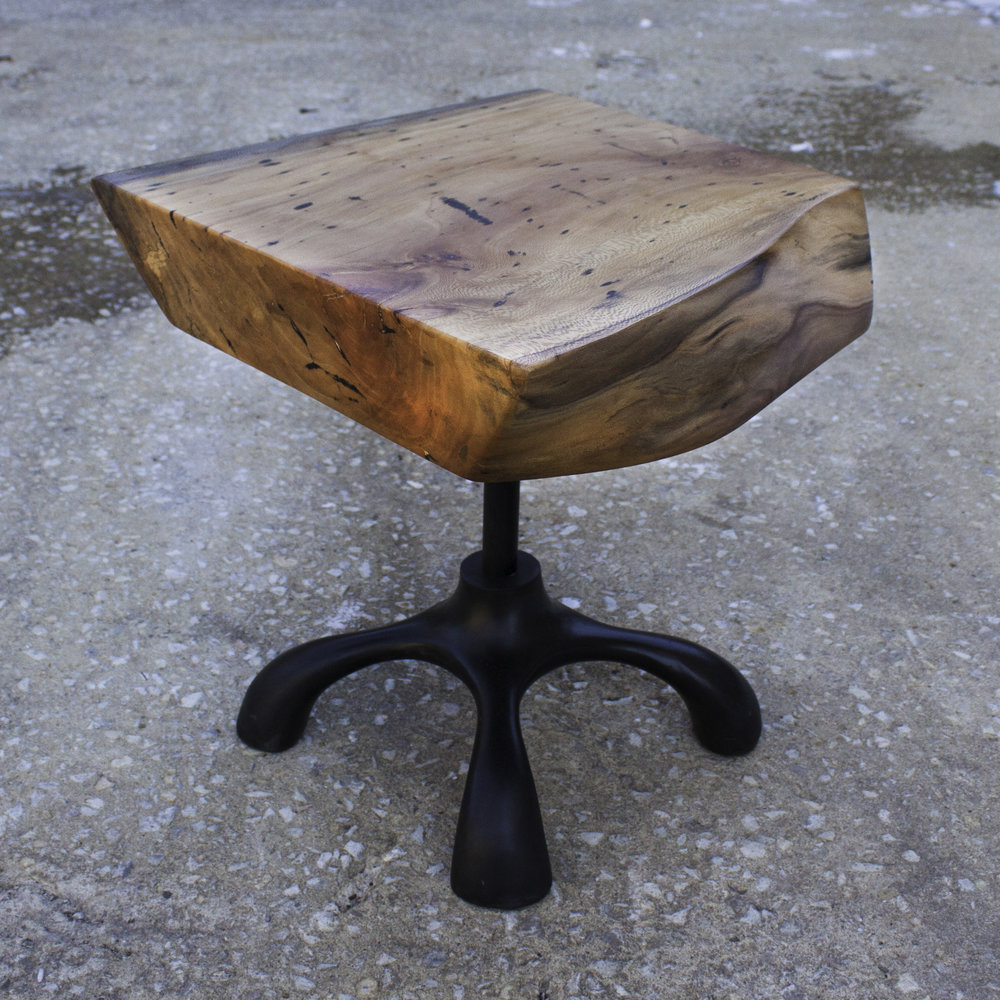 Chunk Wave Side Table