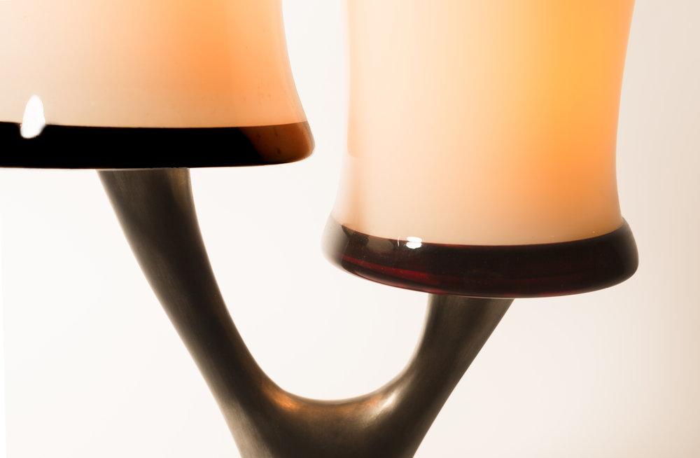 JMA - Twins Twig Lamp - Detail 1