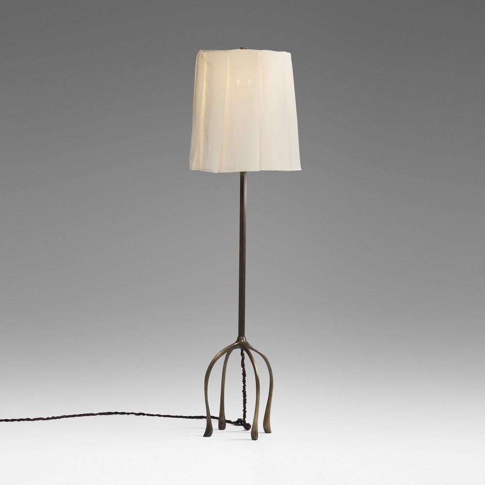 H57 Floor Lamp Linen