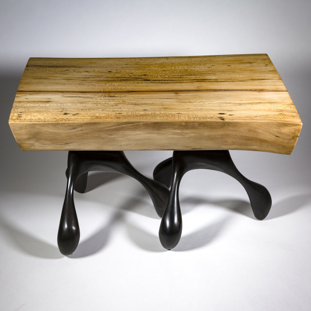 6 Leg Sycamore Table