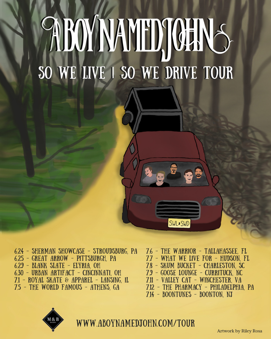 So We Live | So We Drive Tour