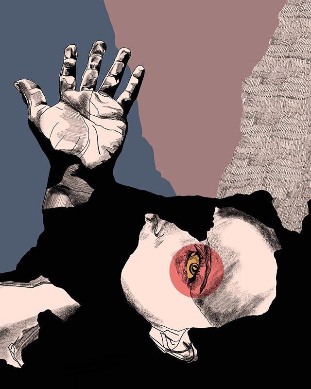 🤚 . . . . . . . . #art #artist #illustration #illustrator #procreate #sketch #paint #annadwilliams #bauhaus