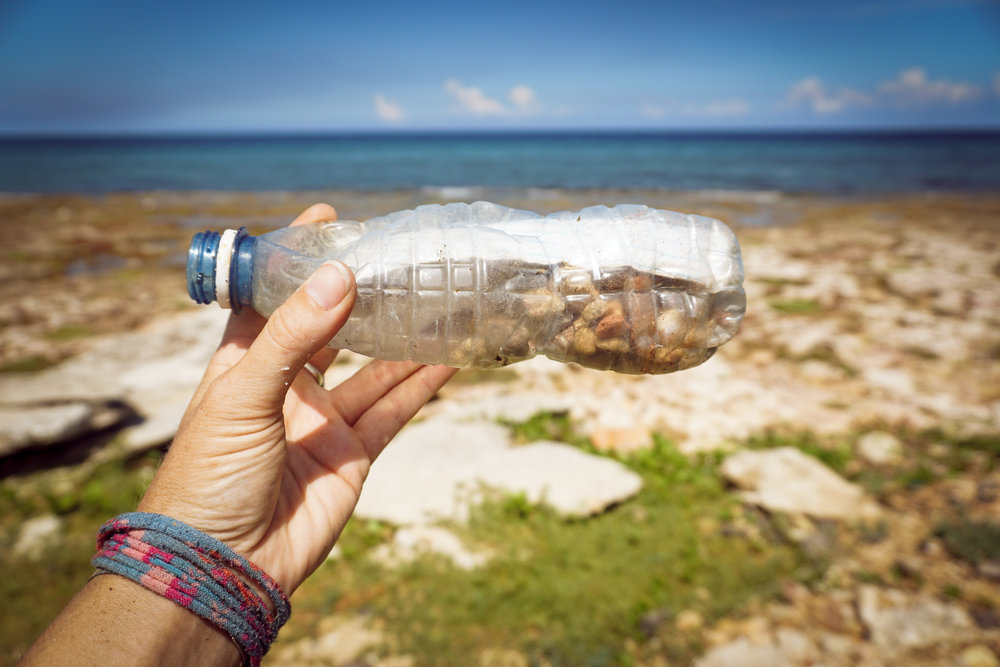 A message in a plastic bottle with secrets for Yemaya, the ocean goddess of Santaria.