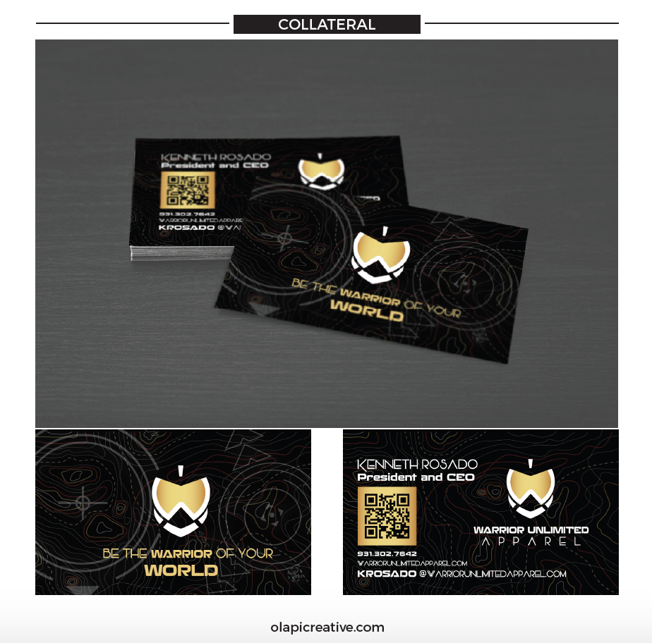 WUA Marketing Collateral Design (Business Cards)
