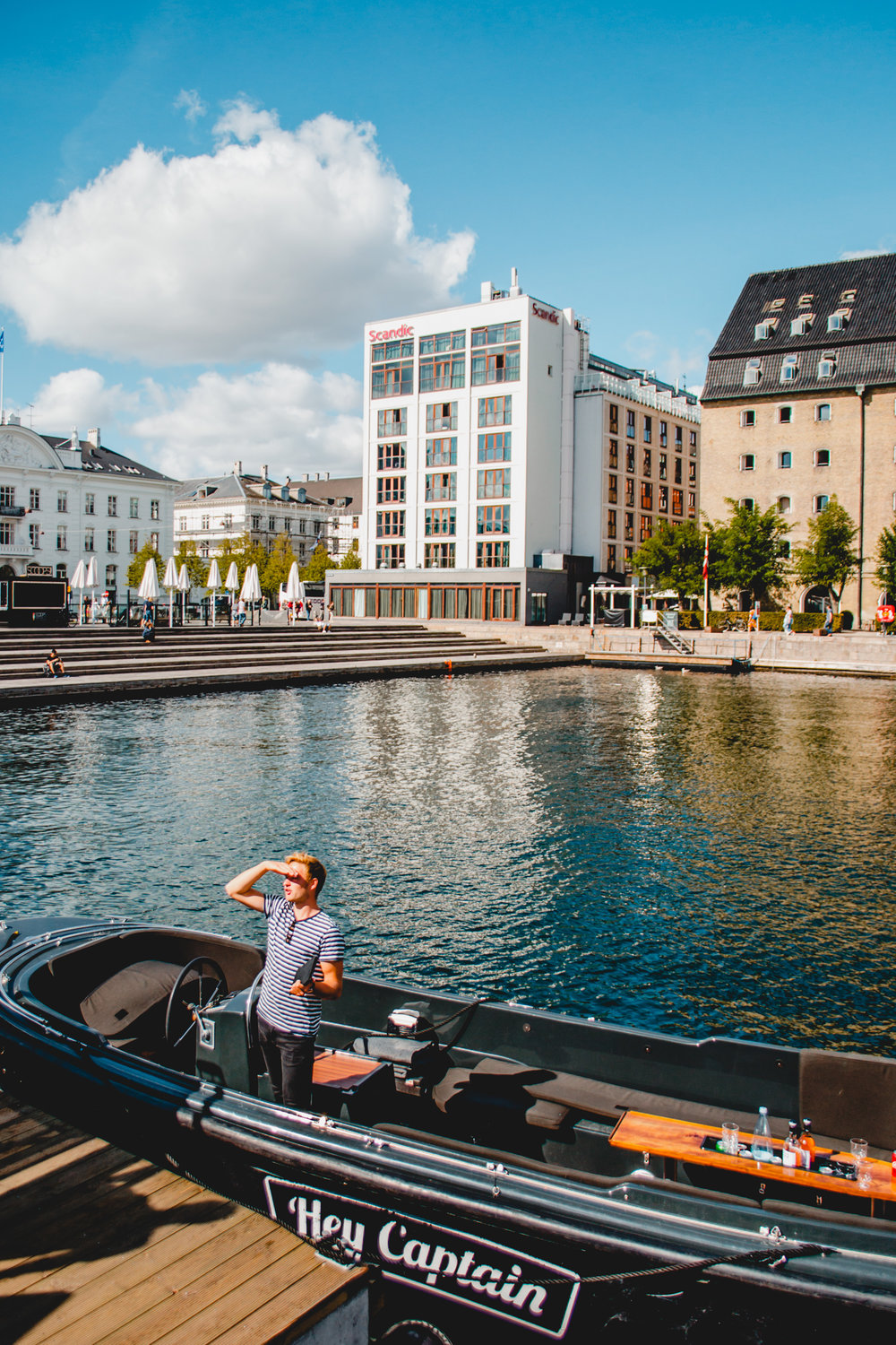 Get away from the crowds and meet your Captain at the Ofelia Plads next to the Royal Danish Playhouse.