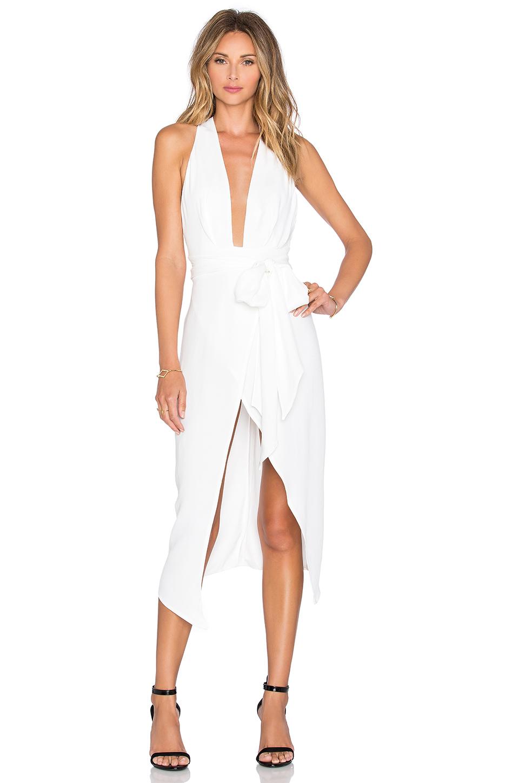 BON BON Plunge Dress $400