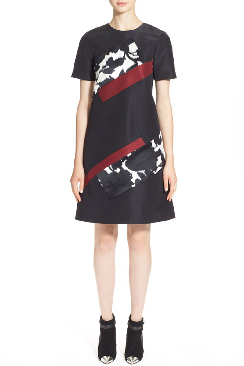 PRABAL GURUNG Printed Sheath Dress $1,650.00