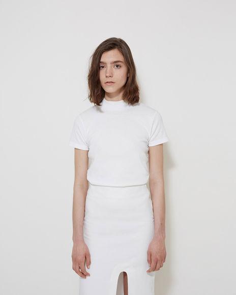 JACQUEMUS Le T-Shirt Col Haut $95