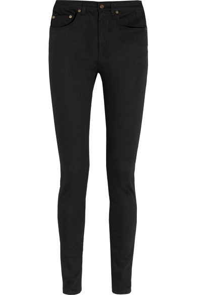 SAINT LAURENT High-rise skinny jeans $590