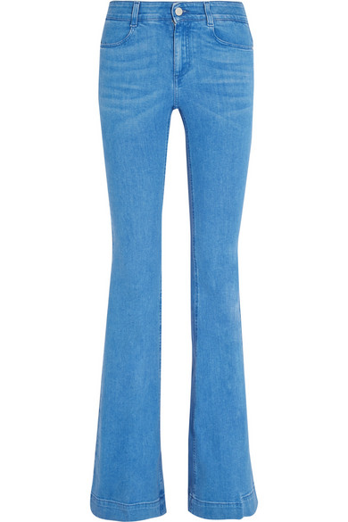 STELLA MCCARTNEY Mid-rise flared jeans $375