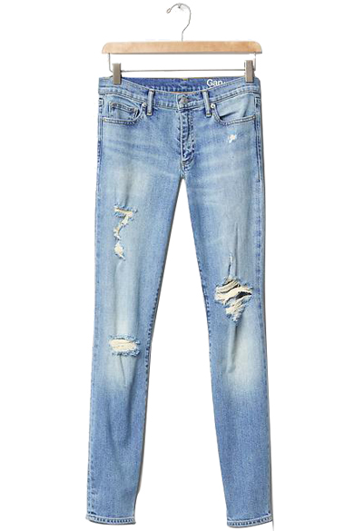 GAP AUTHENTIC 1969 Destructed true skinny jeans $79