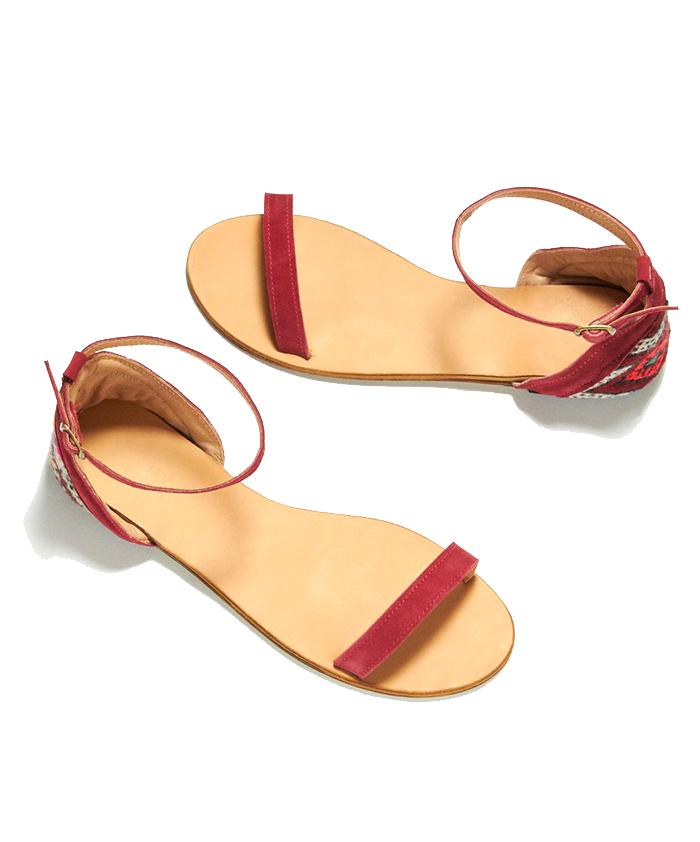 TEN & CO  . Sandals $180