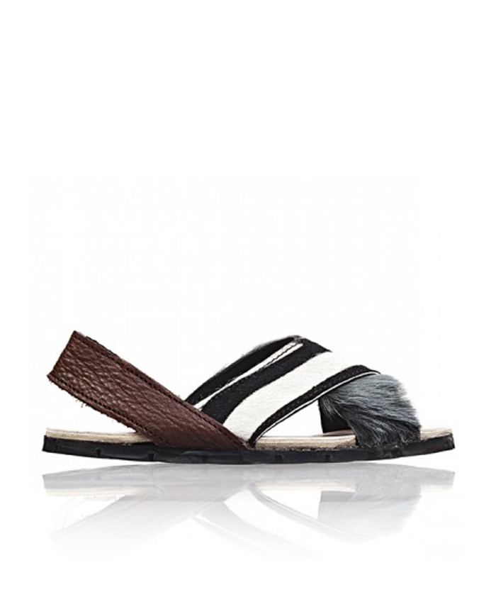 BROTHER VELLIES Zebra Sandals $285