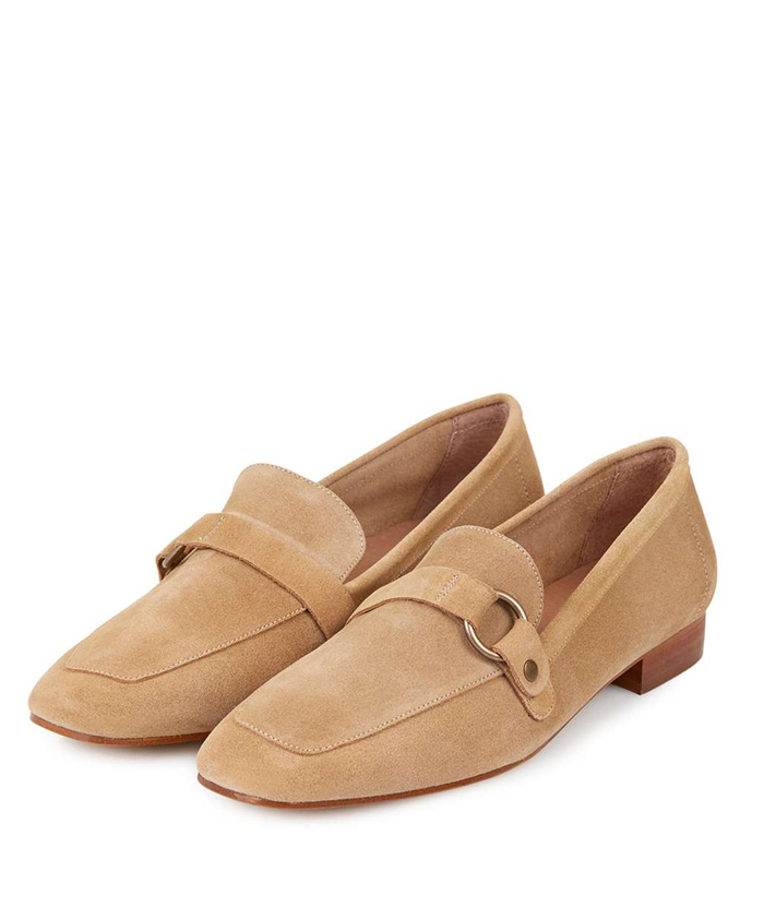 TOPSHOP Metal Trim Loafer $100