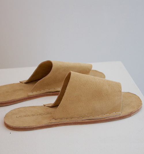 LAURA SCHOORL Sliders $180