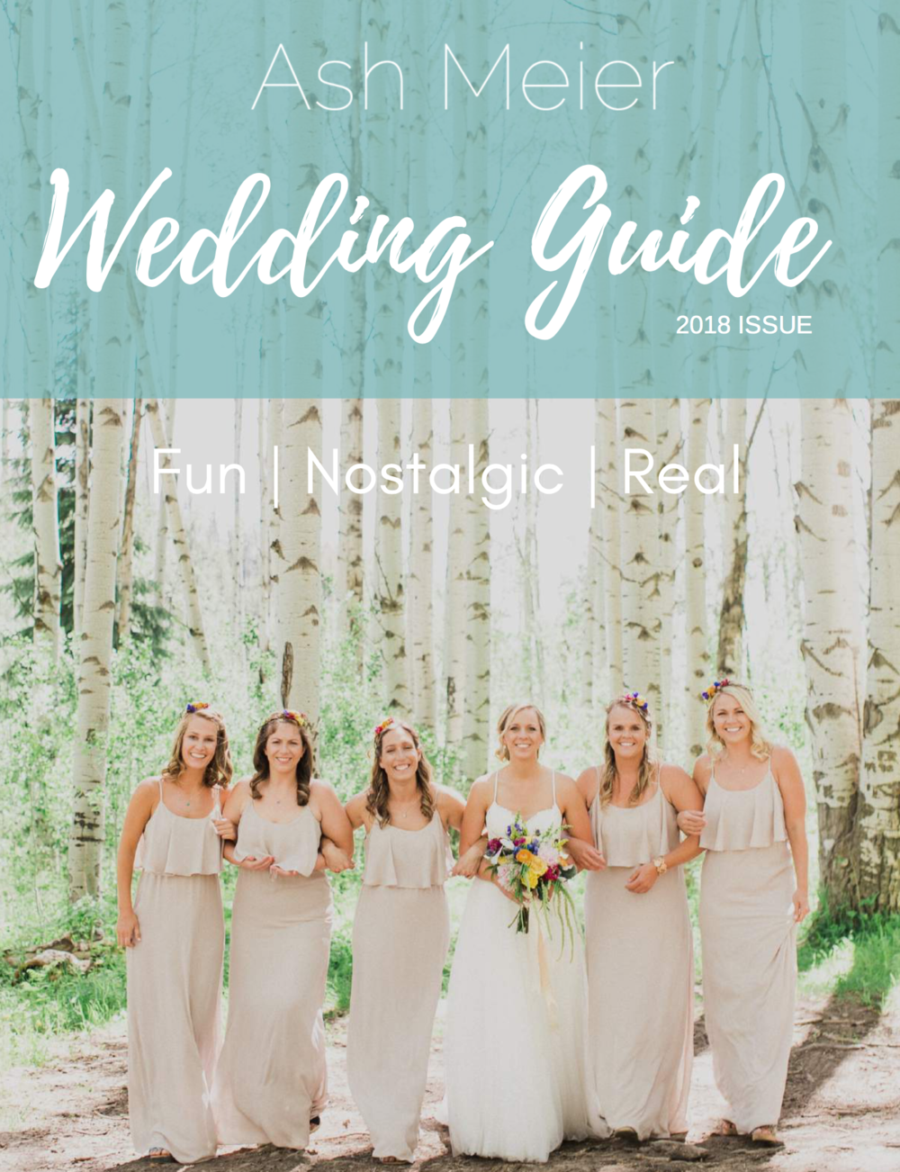Ash Meier - Wedding + Collection Guide