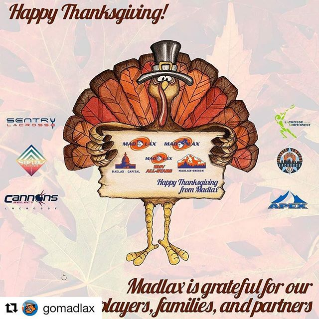 #Repost @gomadlax ・・・ Grateful. Happy Thanksgiving! #playwithpassion #Gomadlax