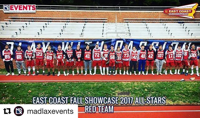 Shout out to our boy Jacob Pickett #69 for making the East Coast Showcase All Star Team! Congrats man! #Repost @madlaxevents (@get_repost) ・・・ #TBT Can't forget about our 2017 East Coast Fall Showcase All Star Red Team! S/O to these studs(listed below from left to right) #ECSFall17 #GoMadlax #PlayWithPassion #AllStars #FallBall 🥅🎯⚪️🍁🍂 . . 85. Justin Herbert '18 LSM @gomadlax  68. Mitch Laughlin '19 Goalie @gomadlax  94. Tripp Ferguson '19 @thefaceoffacademy  123. Drew Pascal '20 Defense @topcaliberlacrosse  69. Jacob Pickett '20 Midfield/FO @madlaxoregon  43. Luke Helfgott '20 Attack @vlclax  117. Jack Butler '19 Defense @dcexpresslacrosse  119. Brock Schaffner '21 Attack @gomadlax  41. Roan Schumann '19 Attack @gomadlax  72. Ricky Tubman '19 Midfield @warriordiamondnationalteam 98. Bubba Bowen '20 Attack @plclacrosse  58. Michael Doyle '19 Attack @412elitelax  133. Chad Calderwood '19 FOGO @gomadlax  73. Wheat O'Hagan '20 Midfield @nextlevellax  142. Michael Laycock '20 Defense @gomadlax  48. Kyle Webster '20 LSM @gomadlax  42. Porter Lewis '20 Attack @gomadlax  107. Zach Vigue '20 Goalie @gomadlax  17. Will Canata '19 Midfield @teamcarolinalax  103. CJ Poldervaart '20 Defense @fcamdboyslax  16. Wilson Coles '19 Midfield @gomadlax  30. John Ludenia III '19 Defense @gomadlax