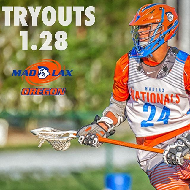 Last chance to register for tryouts! Sunday is the day! Link in bio. #gomadlax #lax #adidaslacrosse #orlax #oregon #pdx #portland #playwithpassion #lacrosse
