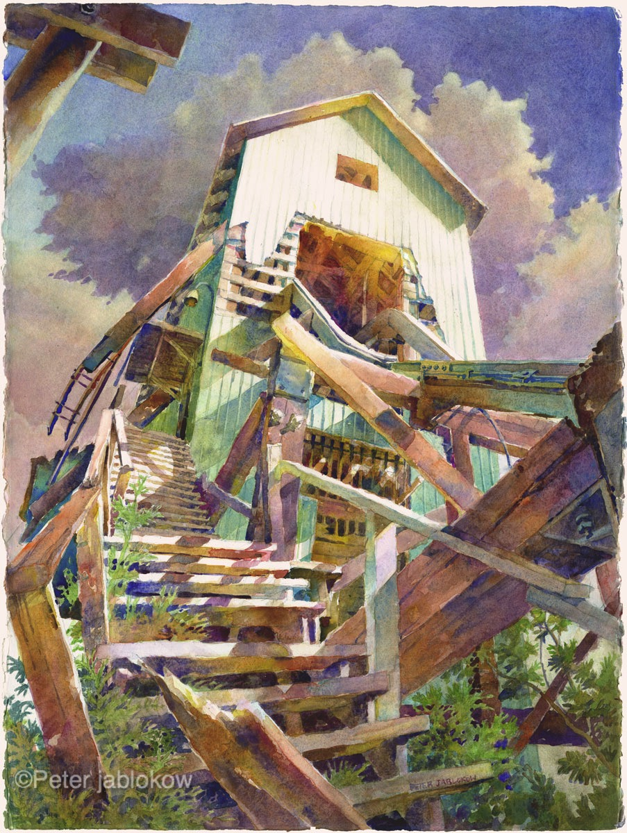 No.3, Shafthouse Stairs
