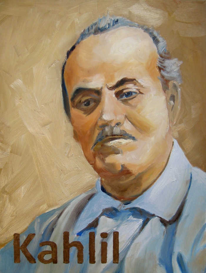 Kahlil Oil Portrait