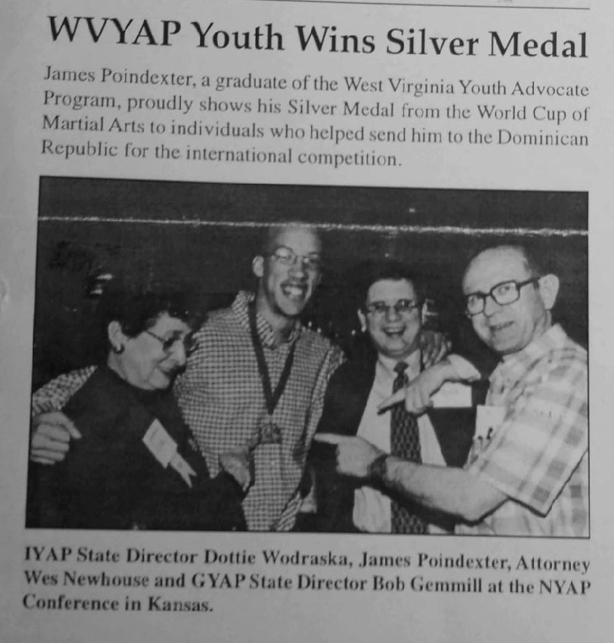 WVYAP Youth Wins Silver Medal