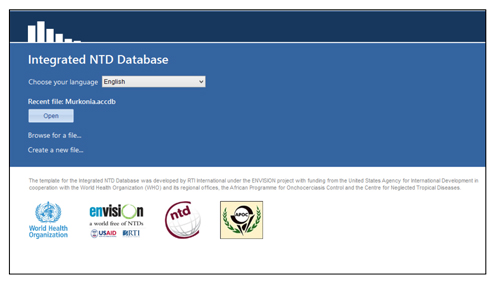 Integrated NTD Database