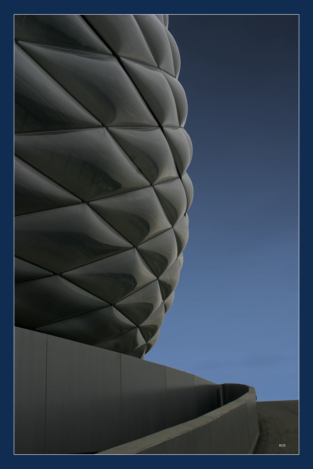 Allianz soccer stadium in Munich, Germany.