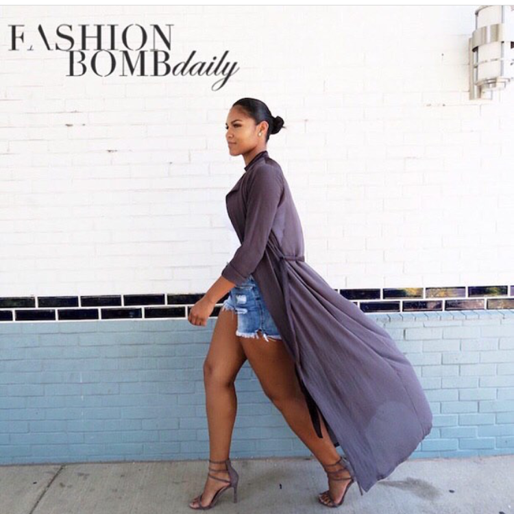 Featured on FASHION BOMB DAILY.