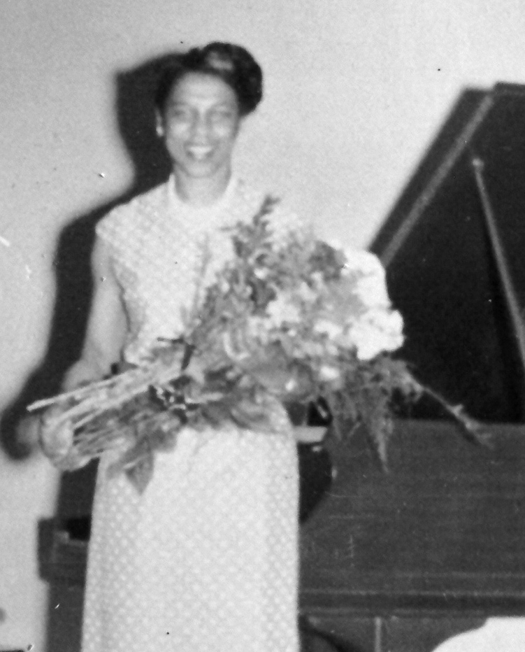 MWSO clarinettist Violet Louise Grant