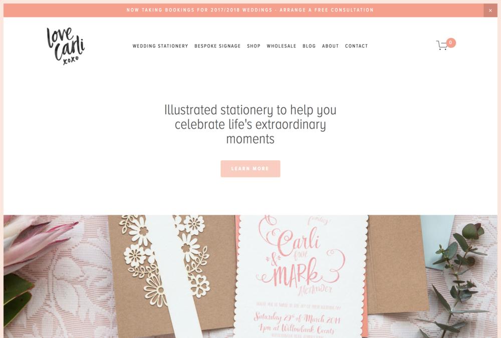 Love Carli | Home Page