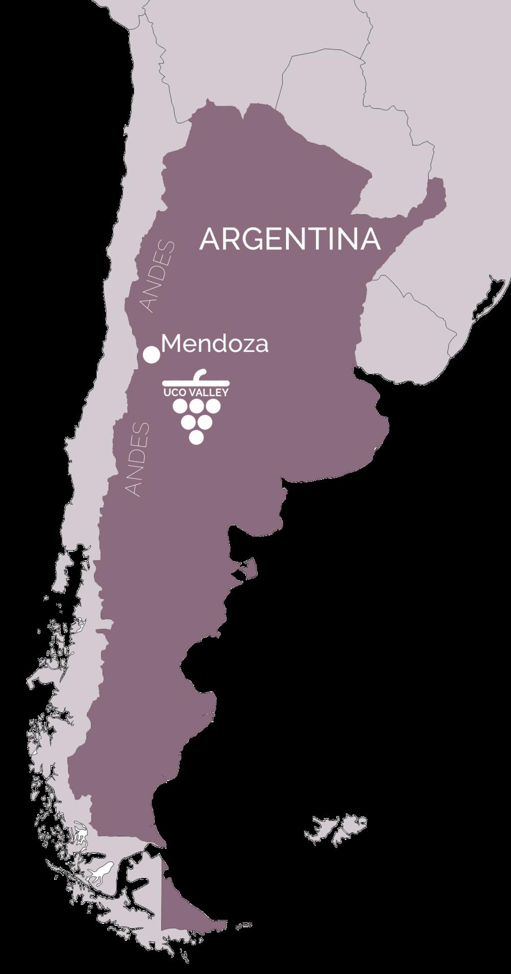 Alexander Wilson - Argentina map png