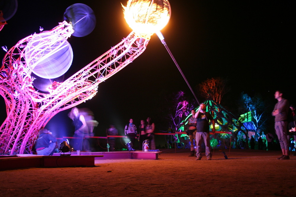 Helix at Symbiosis 2015. Photo by Lynn Bryant