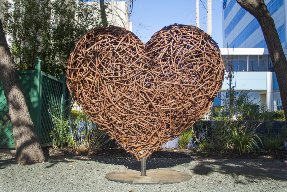 STICKS AND STONES (2012) at Intel Corporate Offices, San Jose, CA. Photo by Lynn Bryant 2017.
