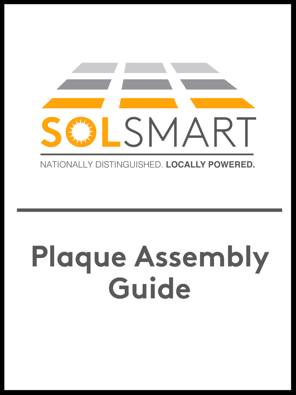 SolSmart Plaque Assembly.png