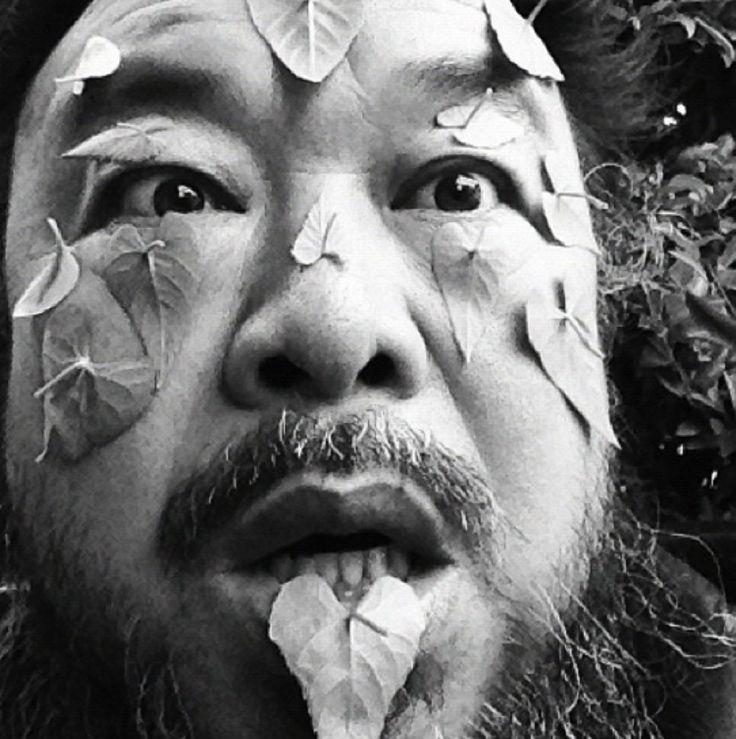 Selfie via Ai Weiwei Instagram