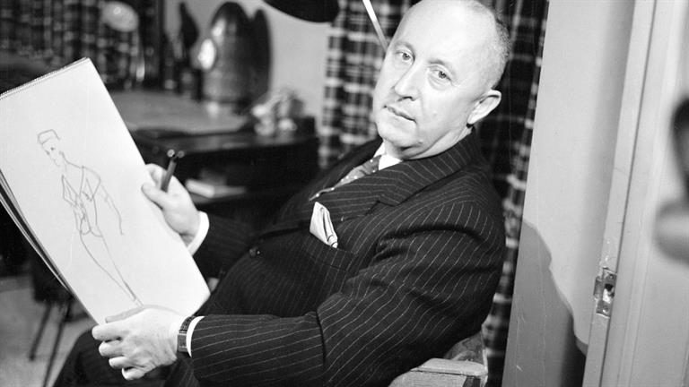 Christian Dior via Biography.com