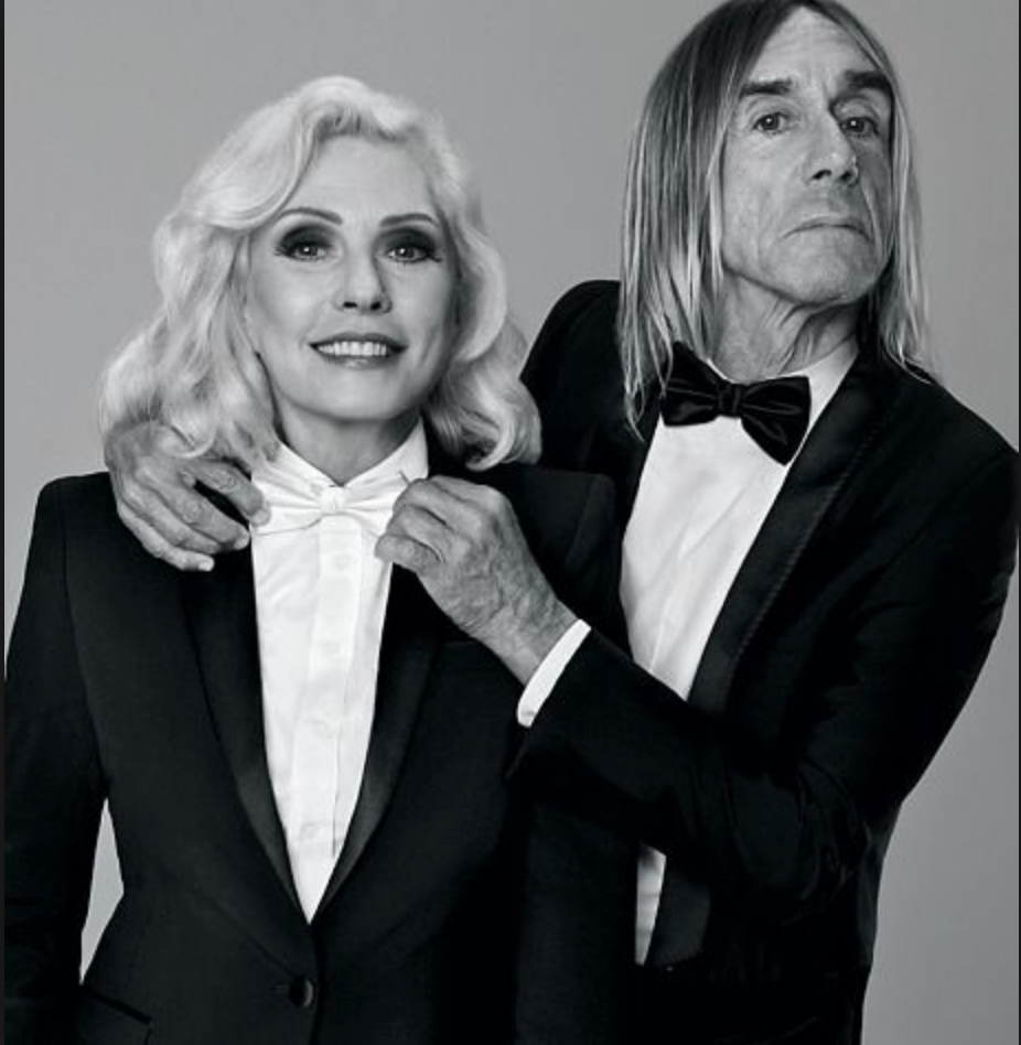 Photo: Iggy Pop and Debbie Harry for Paco Rabanne fragrance -