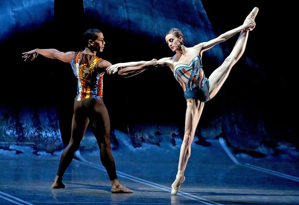 Photo: Wendy Whelan and Craig Hall NYC Ballet, by Andrea Mohin/The New York Times -