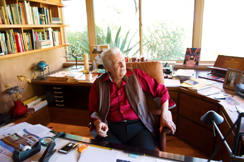 Vern Swaback 78, architect, former apprentice to Frank Lloyd Wright -