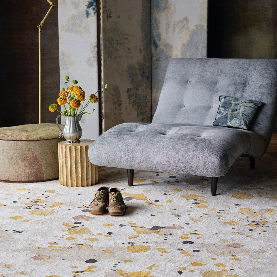 We happen to believe Martyn is a genius of color, light and shadow. - culture: martyn thompson rug collection launches