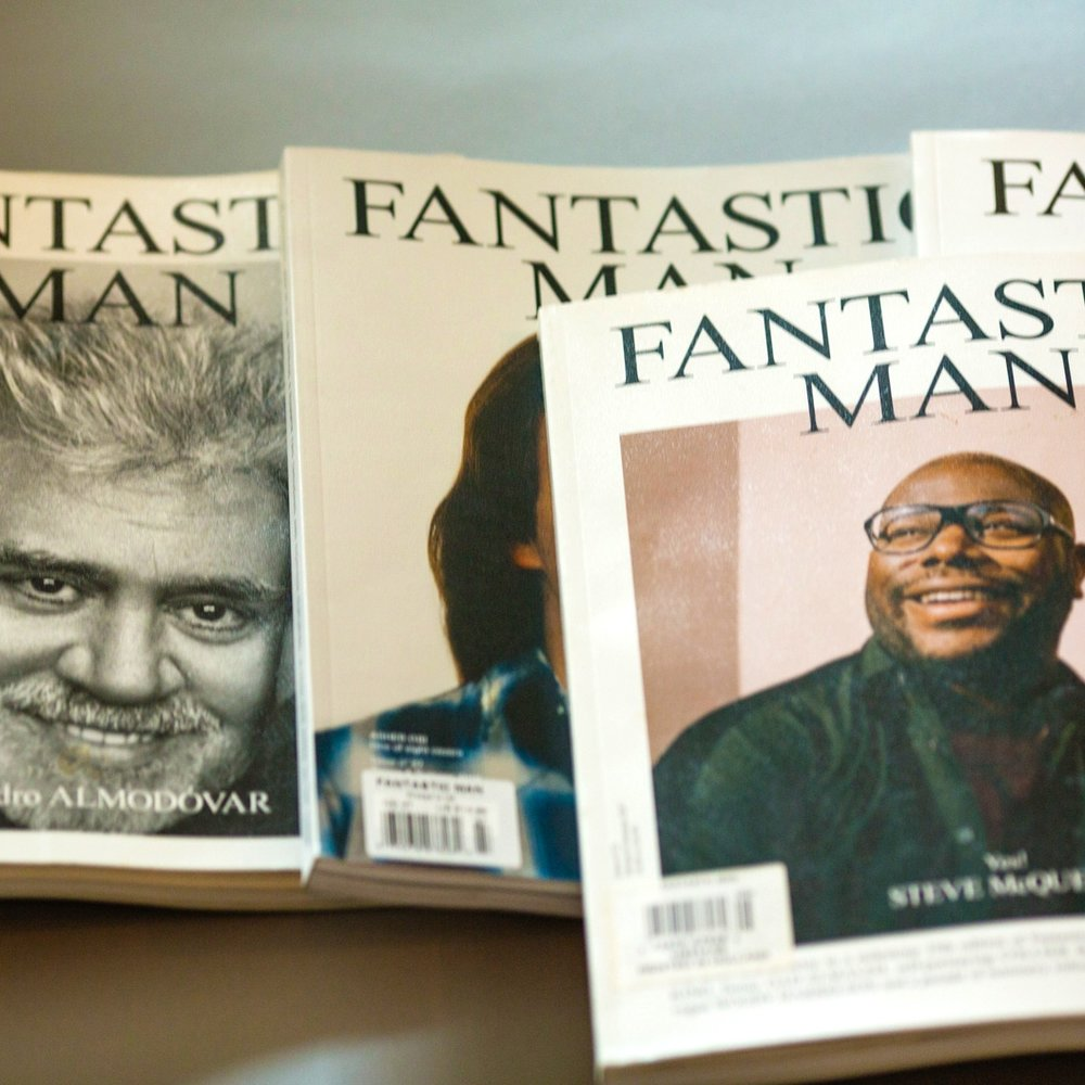 There is still a place for a well-designed, well-printed, thoughtful magazine. - inspiration: fantastic man magazine is one of the best out there