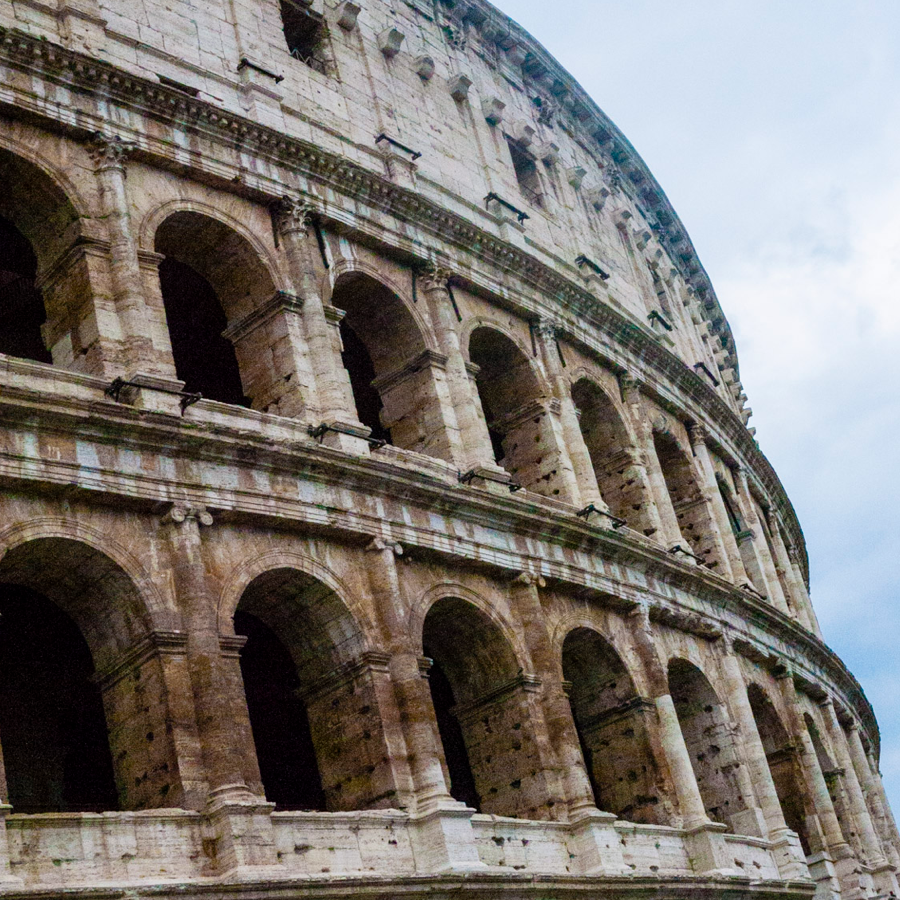 For the first time in 40 years, the top floor of the Colosseum in Rome is open. - travel: another reason to visit the eternal city