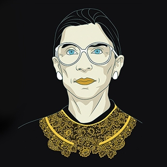 The Ruth Bader Ginsburg movie is out, and we highly recommend. - things we like: rbg. hero. icon. dissenter.