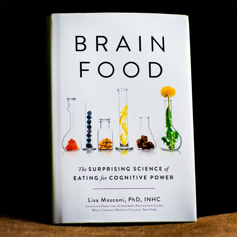 Dr. Lisa Mosconi's new book is a quick read with some fascinating facts. - longevity: the brain is a very picky eater