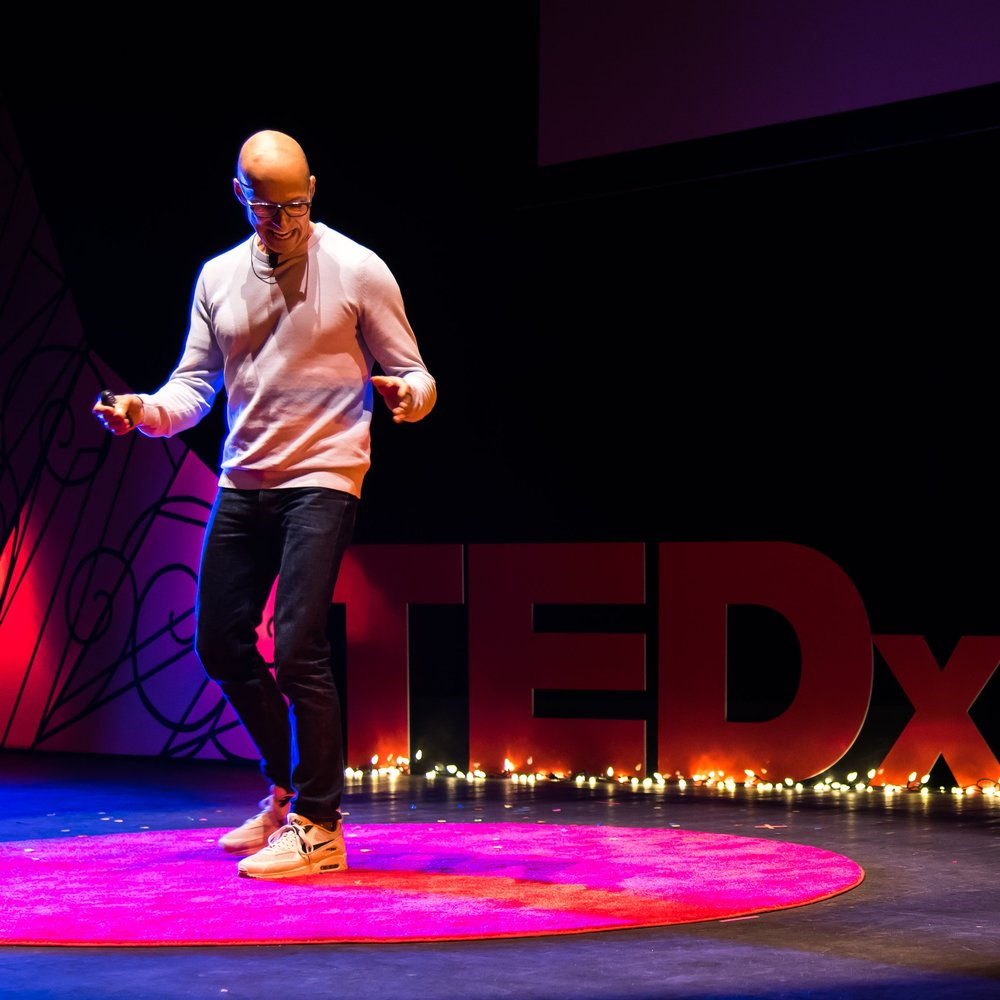 Without all of you this wouldn't have been possible. - news: founder david harry stewart's tedx talk