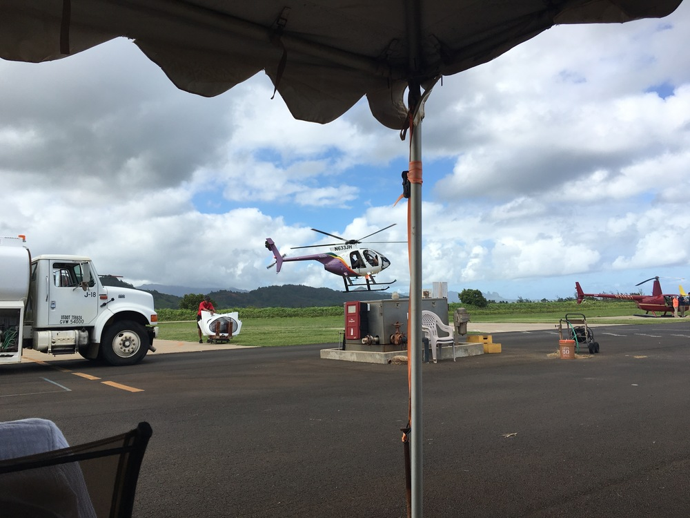Helicopter Tour of Kauai!