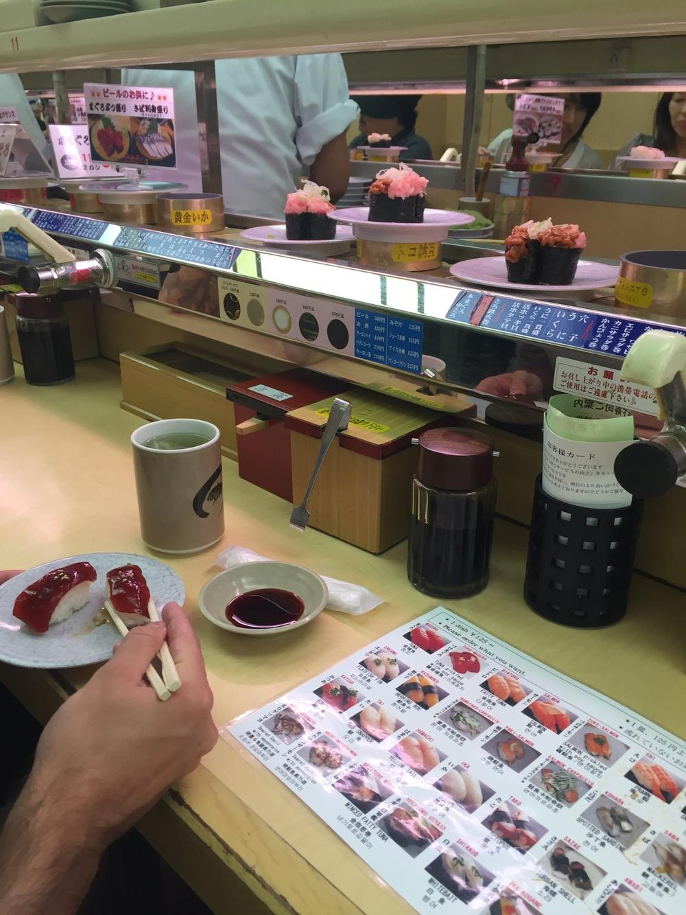 sushi-go-round!!